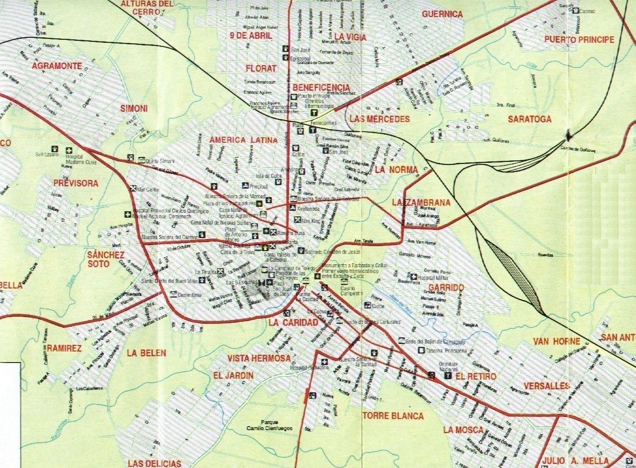 Camaguey Rentals Camaguey Citys Map
